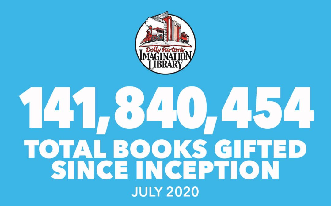 Over 141 Million Free Books Gifted As Of July 2020