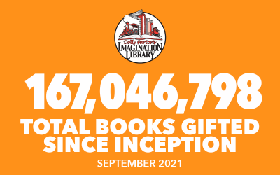 Over 167 Million Free Books Gifted As Of September 2021