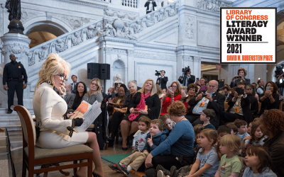 Dolly Parton's Imagination Library Garners Significant Award From Library of Congress